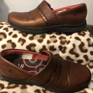 ABEO Cinda Brown Loafers with Aerosystem Insoles